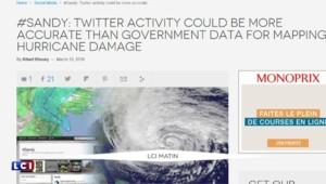 Twitter, laboratoire d'analyses pour évaluer le bilan financier d'une catastrophe naturelle