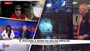 À bord de Solar Impulse II : l'intervention du pilote Bertrand Piccard sur LCI
