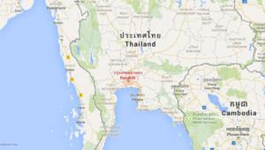 bangkok-carte thaïlande
