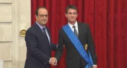 François Hollande et Manuel Valls, le 22 octobre 2014.