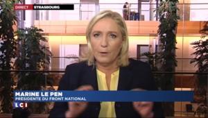"""Marine Le Pen : """"Nadine Morano n'a aucune raison de venir au FN"""""""