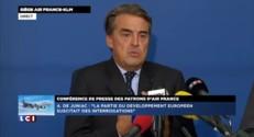 """Alexandre de Juniac : """"Nous ne comprenons plus les motifs de la grève""""'"""