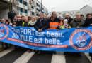 Des commerçants manifestent à Calais pour la défense de leur activité face à la crise migratoire
