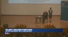 Giscard d'Estaing reçu par Poutine à Moscou pour la présentation de son livre