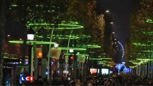 """Illumination des Champs Elysées : c'est """"féérique"""""""