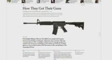 L'article du New York Times sur l'armement des tireurs.