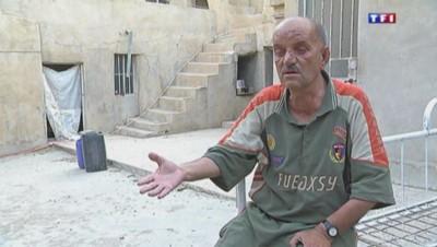 Nouri, chrétien d'Irak menacé de mort par les jihadistes.