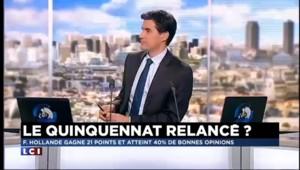 Rebond dans les sondages: Hollande va essayer de surfer sur la vague