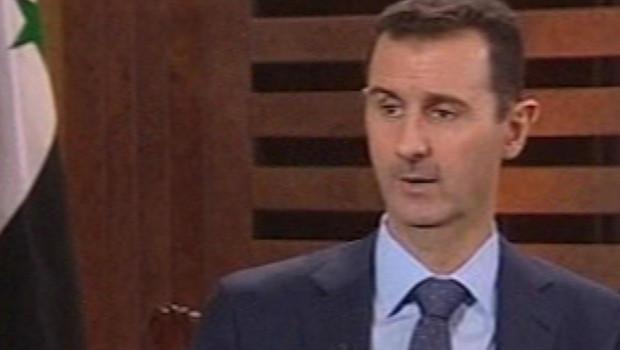 Syrie : Bachar al-Assad donne une interview à la télévision d'Etat, 29/8/12