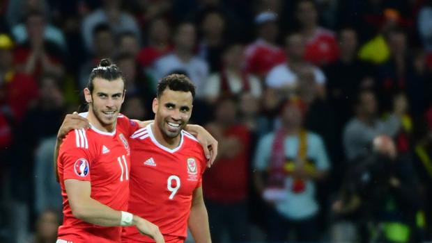 Bale Robson-Kanu Pays de Galles Euro 2016
