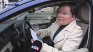 conductrice pollution