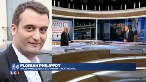 """Florian Philippot : Marine Le Pen """"a vraiment pris l'habit de la femme d'Etat"""""""
