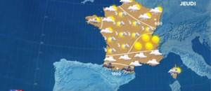 La météo du mercredi 27 avril 2016 : temps instable du Nord à l'Alsace