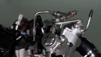 Le concept quatre cylindres essence de 2 l à triple turbo qui délivre la puissance de 450 ch du constructeur suédois Volvo.