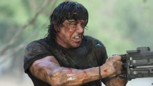 Sylvester Stallon dans John Rambo.