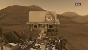 A 317 millions de km de la terre, le robot Curiosity arpente depuis août dernier le sol de Mars.