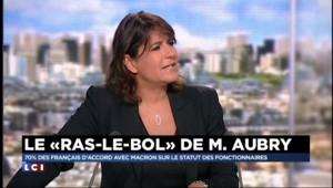"""Bruno Jeudy : """"Macron est le bouc-émissaire d'Aubry"""""""