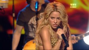 Shakira aux NRJ Music Awards, le 22 janvier 2011