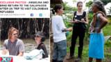 Angelina Jolie, de la capeline vaporeuse aux bottes tout terrain