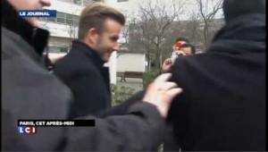 David Beckham à Paris : les images