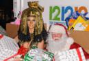 Heidi Klum en Cléopâtre lors de sa soirée de Noël hanté le 1er décembre à New York.