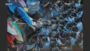 Le parapluie est devenu l'emblème des pro-démocratie à Hong Kong.
