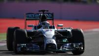 Lewis Hamilton au GP de Russie 2014
