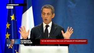 """Sarkozy à propos de Hollande : """"On s'attendait au pire, nous n'avons pas été déçus"""""""
