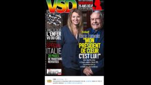 Valérie Trierweiler méconnaissable dans VSD en février 2016.