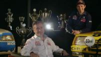 Cyril Despres Carlos Sainz présentation Peugeot Dakar 2015