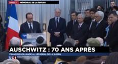 """François Hollande : à Auschwitz le 27 janvier, """"la révélation de l""""horreur"""""""