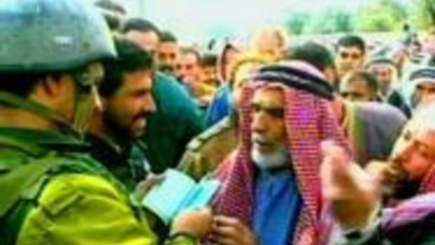israel soldat tsahal palestinien controle