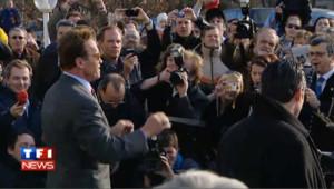 Schwarzenegger s'imporvise chef d'orchestre en Autriche