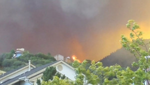 Un incendie dans l'Etat du Colorado, le 28 juin 2012.
