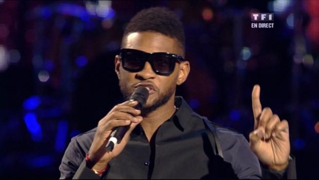 Usher aux NRJ Music Awards, le 22 janvier 2011