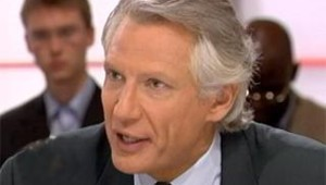 Villepin Dominique France 2