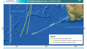Vol MH370 : les recherches du 21 mars