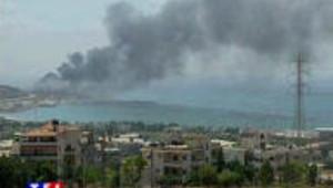 Guerre au Liban : marée noire suite à un bombardement