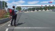 La France en auto-stop : direction Angoulême à bord d'un camping-car