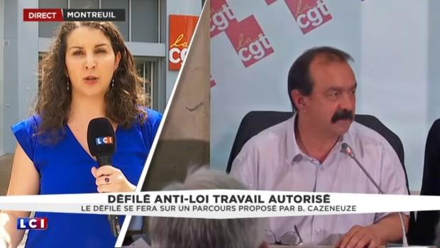 """Manifestation contre la Loi Travail maintenue : """"une victoire pour les syndicats"""""""