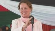 Segolène Royal au Kenya