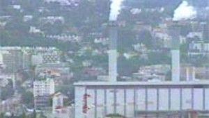 environnement pollution usine fumee