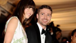 Jessica Biel et Justin Timberlake en mai 2012