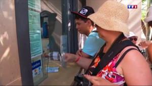 Le 13 heures du 8 juillet 2015 : Crise grecque : des touristes épargnés, des commerçants affectés - 677