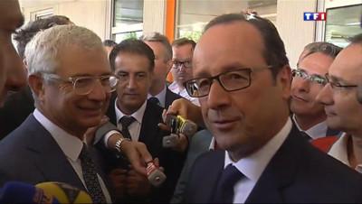 Le 20 heures du 2 septembre 2014 : Contr�des ch�rs : Fran�s Hollande �te la question - 718.613