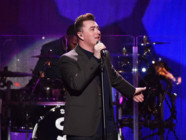 Le chanteur britannique Sam Smith à New York en décembre 2014