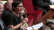 Annick Girardin à l'Assemblée nationale en octobre 2013