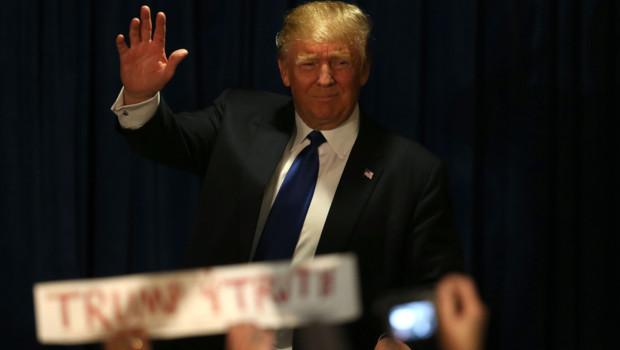 Donald Trump le 10/02/16