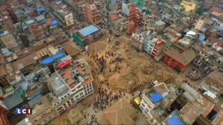 Katmandou, ville détruite : les images aériennes