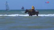 Le 13 heures du 6 juillet 2015 : La pêche aux crevettes à cheval, une véritable tradition en Belgique - 2044